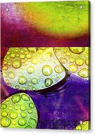 Botanical Elements I Acrylic Print by Ricki Mountain