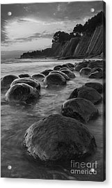 Bowling Ball Beach At Sunrise Acrylic Print