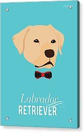 Bowtie Dogs Acrylic Print by Popiko Shop