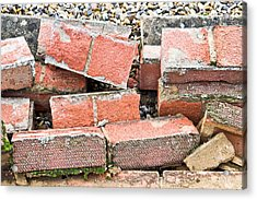 Bricks Acrylic Print by Tom Gowanlock
