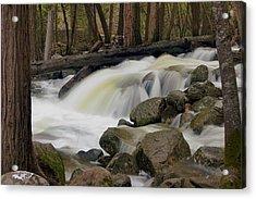 Acrylic Print featuring the photograph Bridalveil Creek by Chuck De La Rosa