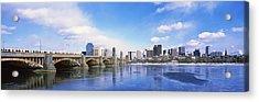 Bridge Across A River, Longfellow Acrylic Print