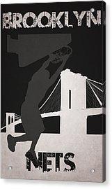 Brooklyn Nets Acrylic Print