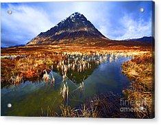 Buachaille Etive Mor Scotland Acrylic Print