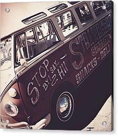 #bugorama #2014 #vw #volkswagen #bus Acrylic Print