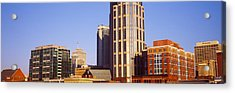 Buildings In A Downtown District Acrylic Print