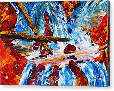 Burch Creek Run-off Acrylic Print
