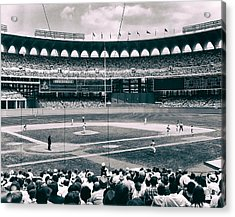 Busch Stadium - St Louis 1966 Acrylic Print by Mountain Dreams