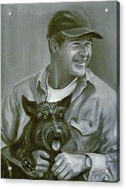 Bush And Barney Acrylic Print