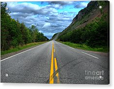 Acrylic Print featuring the photograph Cabot Trail by Joe  Ng