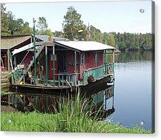 Cajun Houseboat Acrylic Print