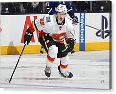 Calgary Flames V Toronto Maple Leafs Acrylic Print by Claus Andersen