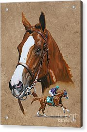 California Chrome Acrylic Print
