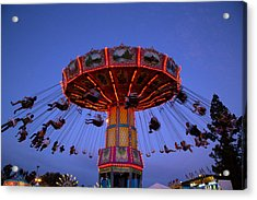 California State Fair In Sacramento Acrylic Print