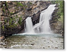 Cameron Falls Acrylic Print by Dee Cresswell