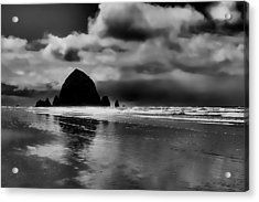 Cannon Beach - Oregon Acrylic Print by David Patterson