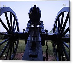 Cannon Acrylic Print by William Watts
