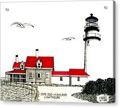 Cape Cod - Highland - Lighthouse Acrylic Print
