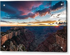 Cape Royal Sunset Acrylic Print