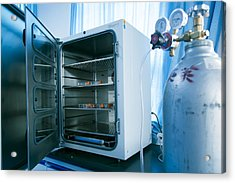 Carbon Dioxide Incubator Acrylic Print by Science Photo Library