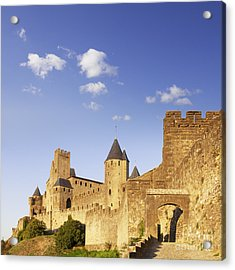 Carcassonne Languedoc-roussillon France Acrylic Print