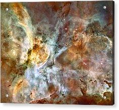 Carina Nebula Acrylic Print by Nasa