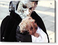 Carnival Dog Acrylic Print by John Rizzuto
