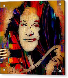 Carole King Collection Acrylic Print by Marvin Blaine