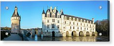 Castle Over A River, Chateau De Acrylic Print