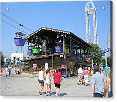 Cedar Point - 12123 Acrylic Print by DC Photographer