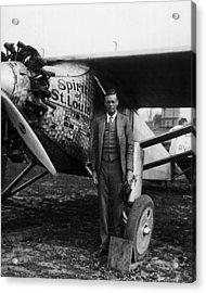 Charles Lindbergh Acrylic Print