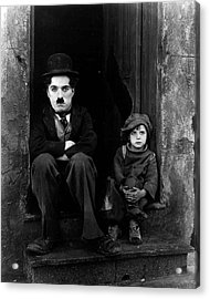 Charlie Chaplin Acrylic Print by Retro Images Archive