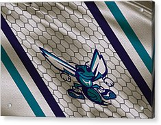Charlotte Hornets Uniform Acrylic Print