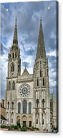 Chartres Cathedral Acrylic Print by Olivier Le Queinec