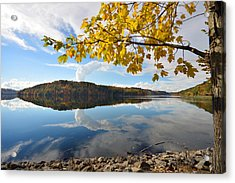 Cheat Lake - West Virginia Acrylic Print by Dung Ma