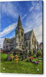 Christ Church Acrylic Print by Ian Mitchell