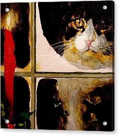Christmas Visit Acrylic Print