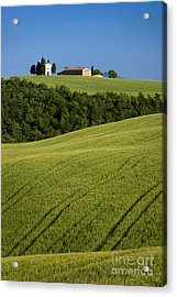 Church In The Field Acrylic Print by Brian Jannsen