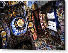 Church Interior Acrylic Print