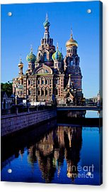 Church Of The Spilt Blood Acrylic Print by Shirley Mangini
