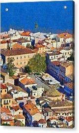 City Of Nafplio Acrylic Print by George Atsametakis