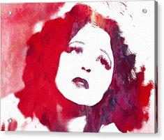 Clara Bow Acrylic Print by Steve K