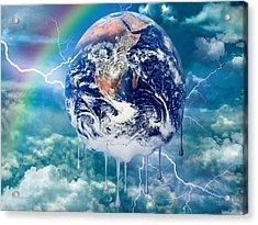 Climate Change Acrylic Print