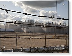 Acrylic Print featuring the photograph Closed Factory by Jim West