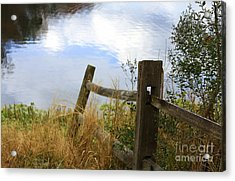 Cloud Reflections Acrylic Print