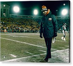 Coach Mike Ditka Acrylic Print by Retro Images Archive