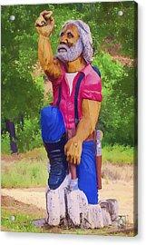 Coarsegold Miner Acrylic Print