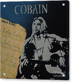 Cobain Spray Art Acrylic Print