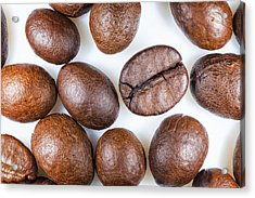 Coffee Beans Detail Acrylic Print