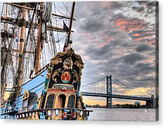 Colors Acrylic Print by JC Findley